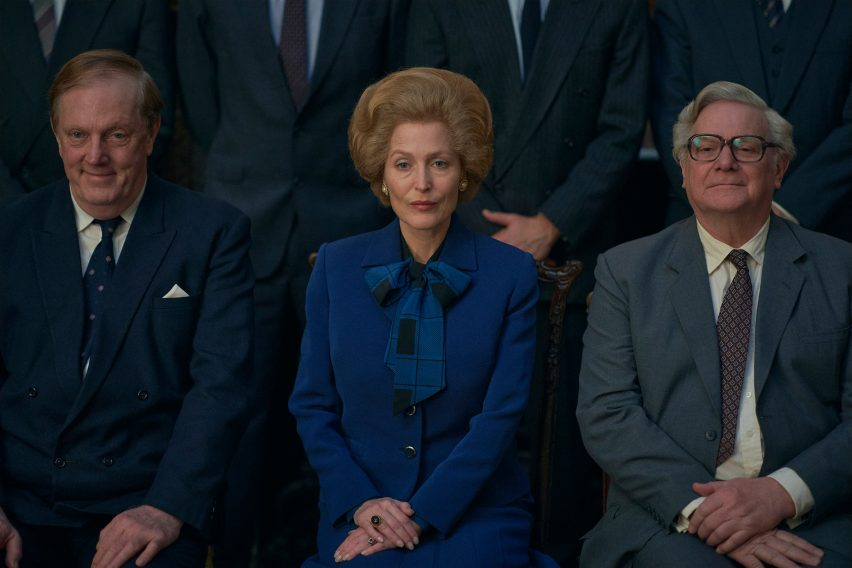 Gillian Anderson as Margaret Thatcher in The Crown season 4