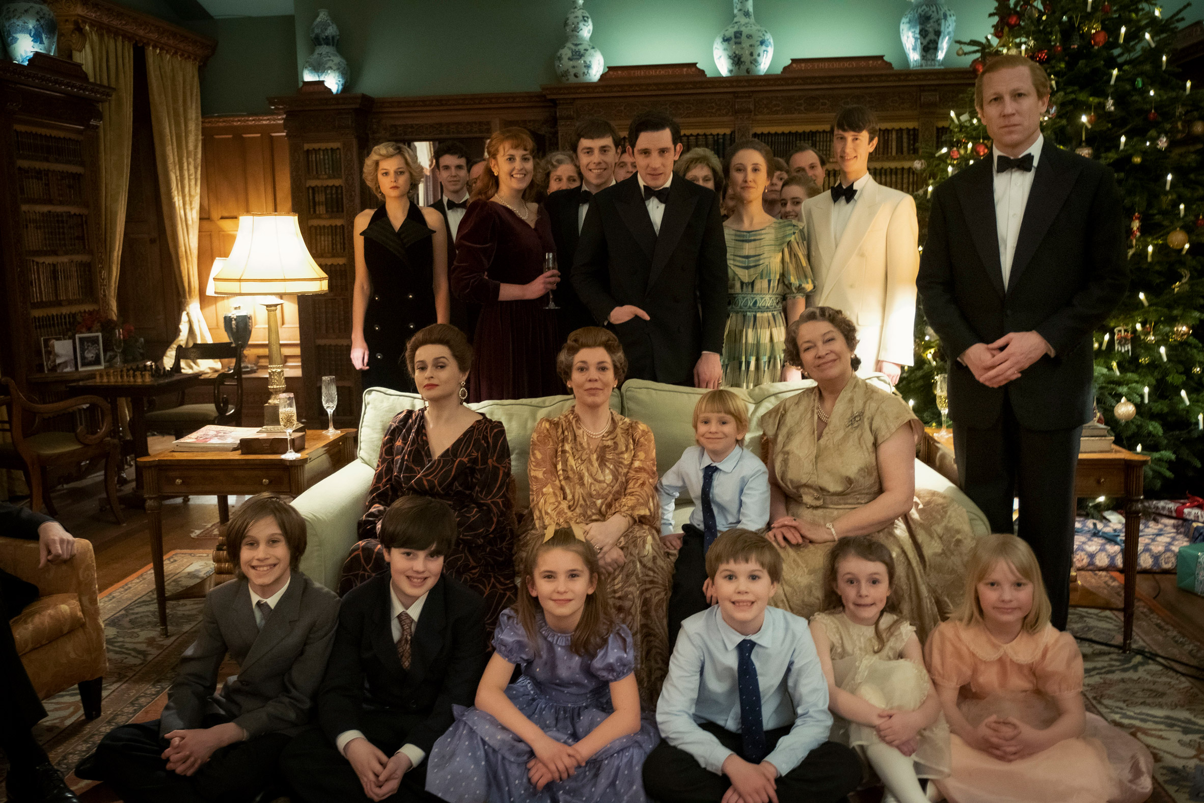 The royal family played by actors in The Crown season 4