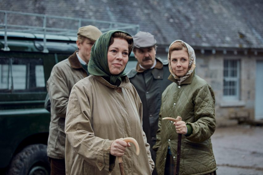 Olivia Coleman as the Queen in The Crown season 4