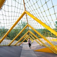 Atelier Scale designs The Folds playground to encourage tactile play