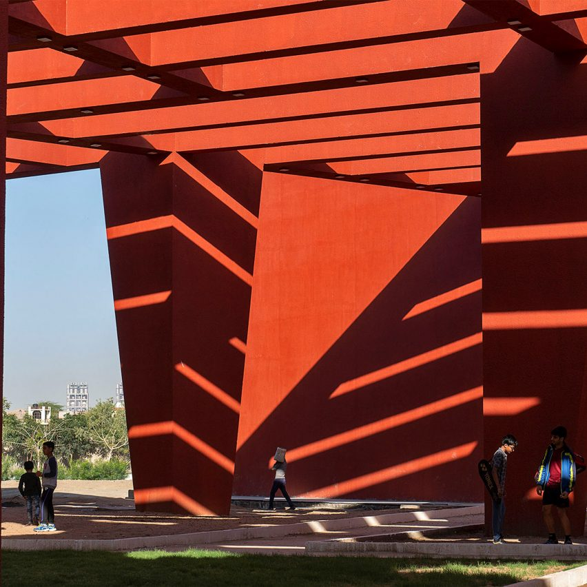 Indian architecture of 2020: Red school by Sanjay Puri Architects