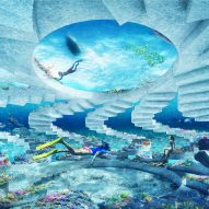 OMA designs underwater sculpture park The ReefLine for Miami Beach