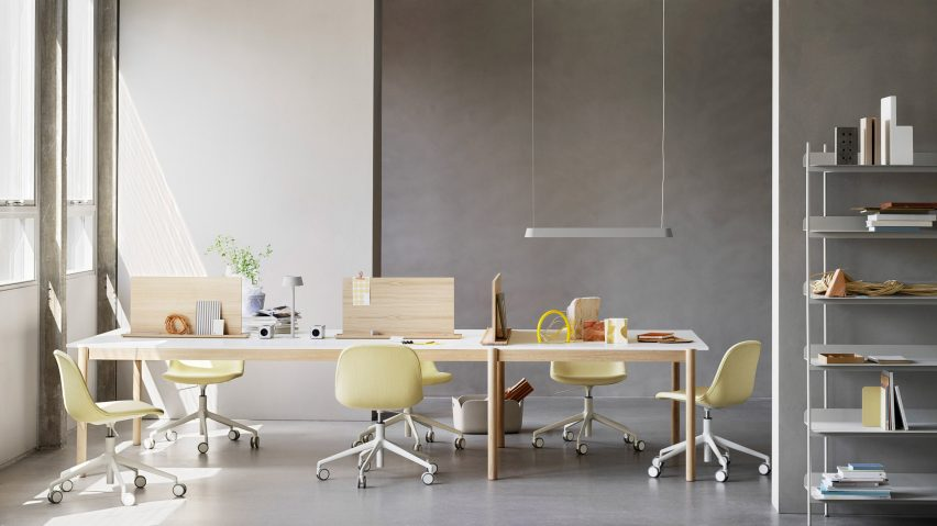 The Linear System Series by Thomas Bentzen for Muuto