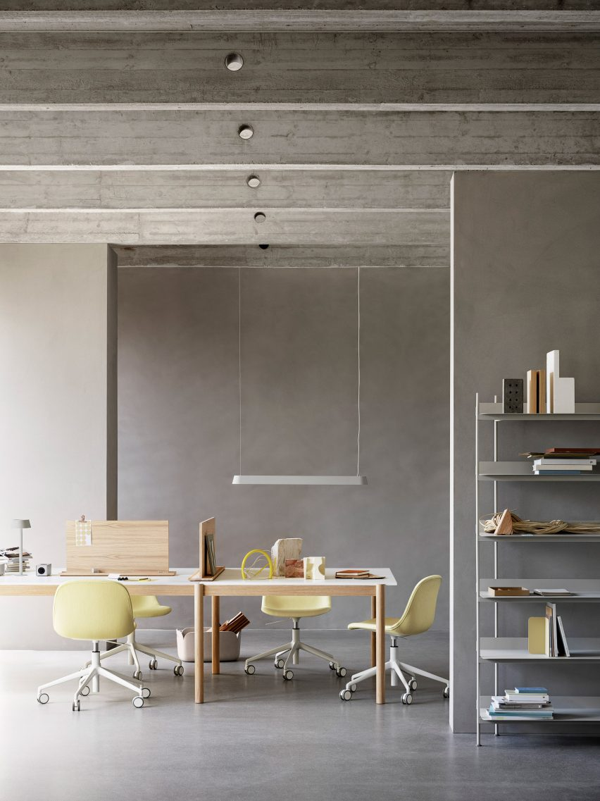 Linear Pendant lamp, Thomas Bentzen's The Linear System Series for Muuto
