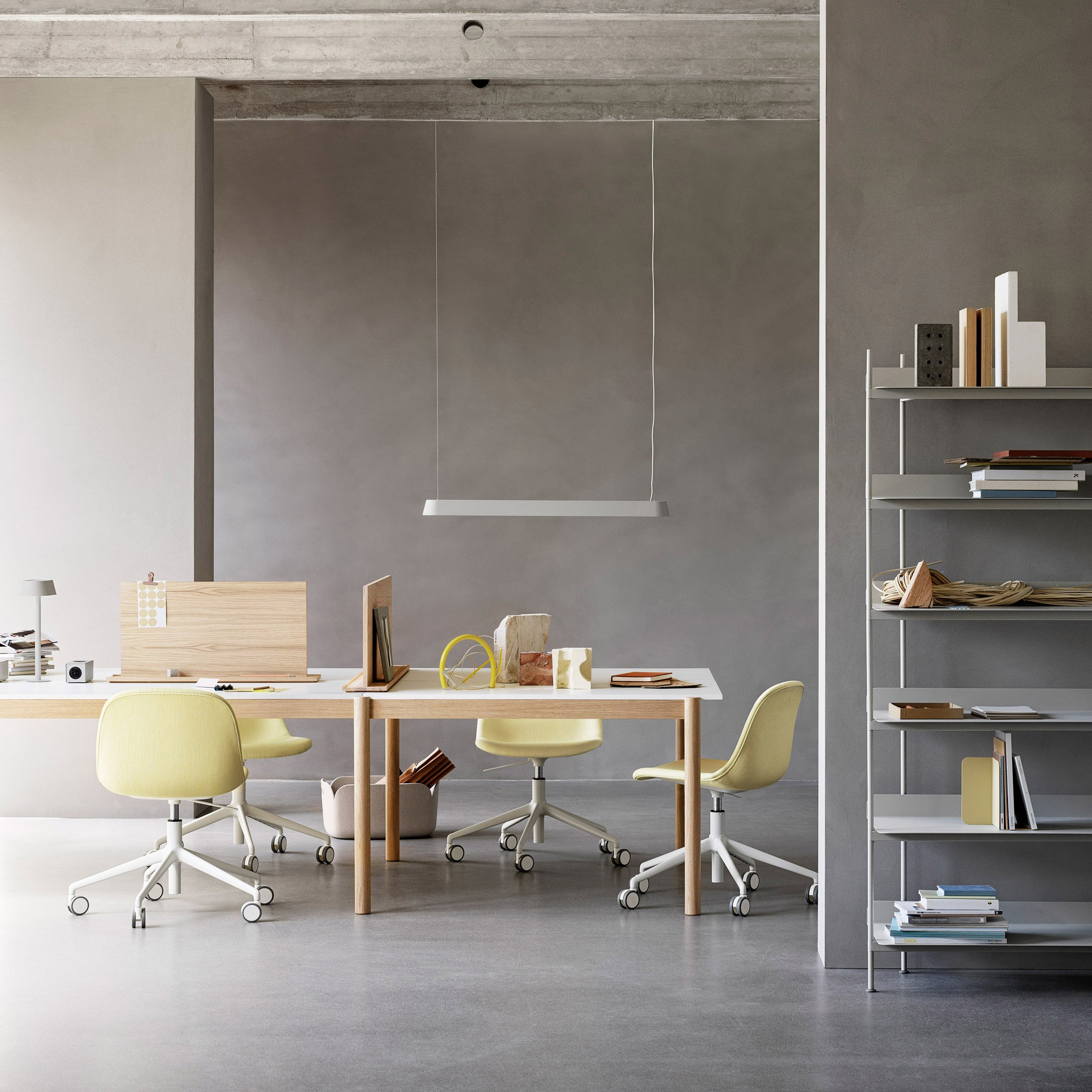 Products from Thomas Bentzen's The Linear System Series for Muuto