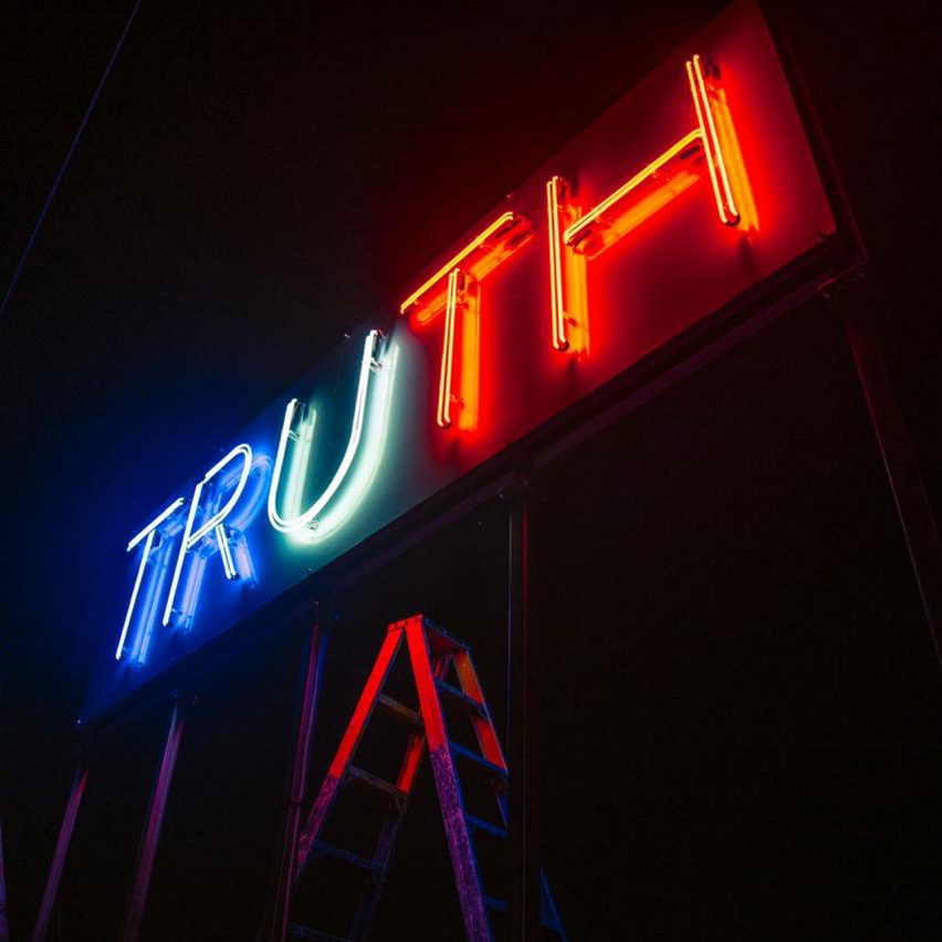 Truth and Lie by Stefan Brüggemann