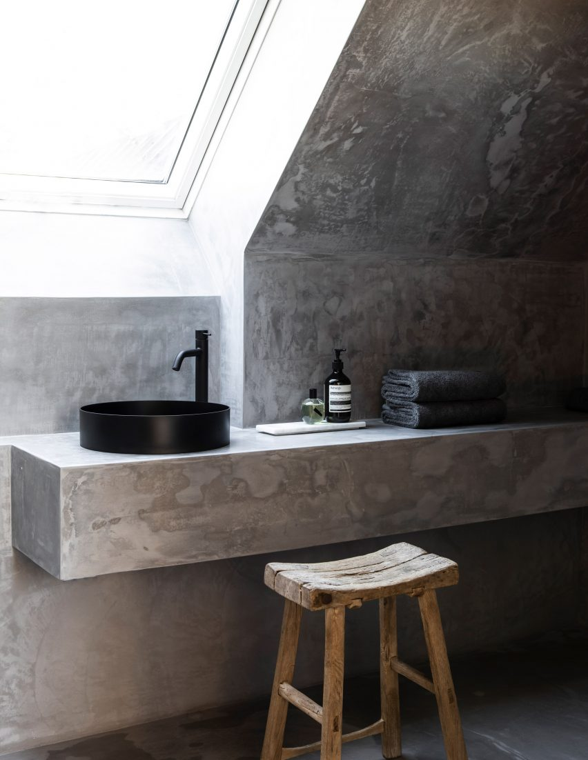 Bathroom of TypeO Loft in Sweden
