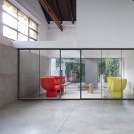 Ultralight is a partition wall system by IOC Project Partners