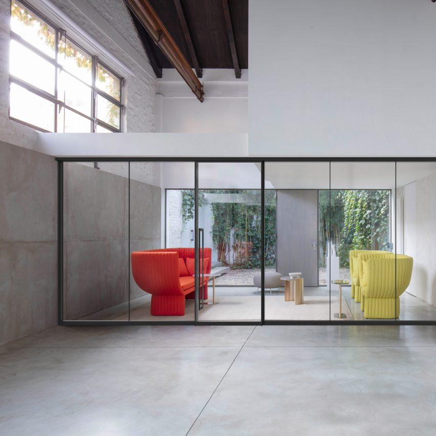 Ultralight partition wall by IOC Project Partners