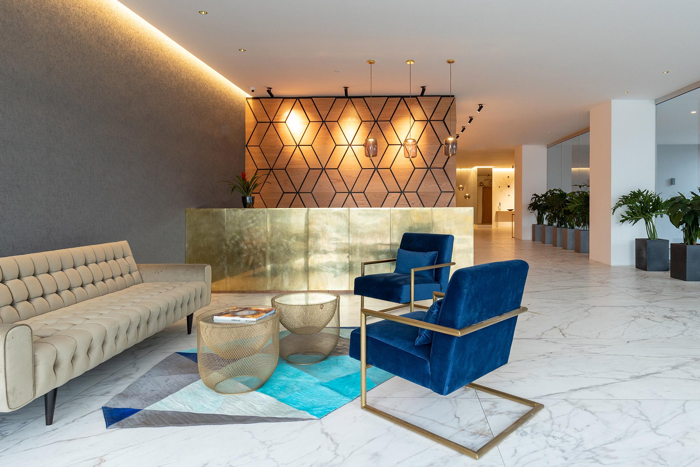Lobby in Unique by Carlos Zapata