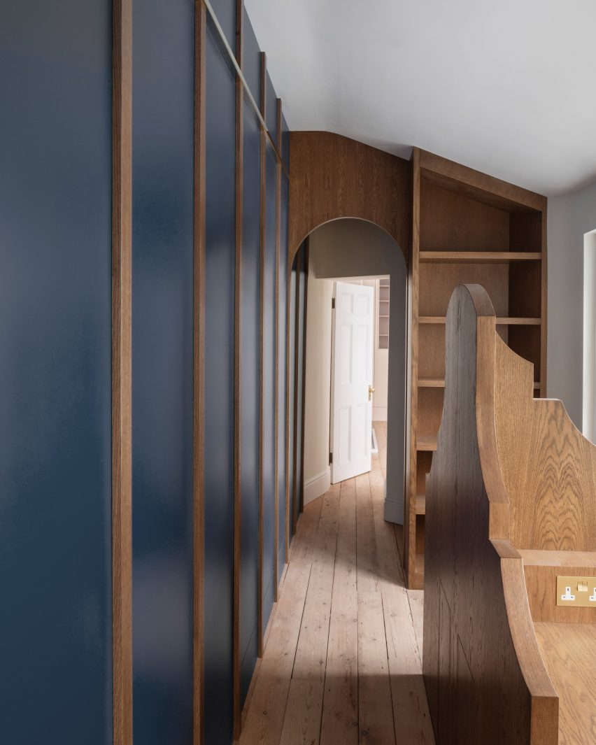 Study of Upper Wimpole Street apartment by Jonathan Tuckey Design