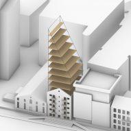 Plan of Dock Mill in Dublin by Urban Agency
