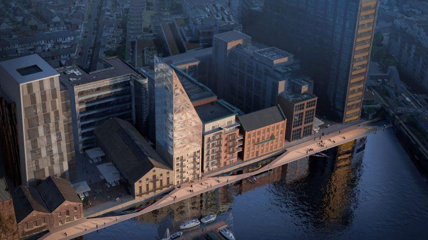 View of Dock Mill in Dublin