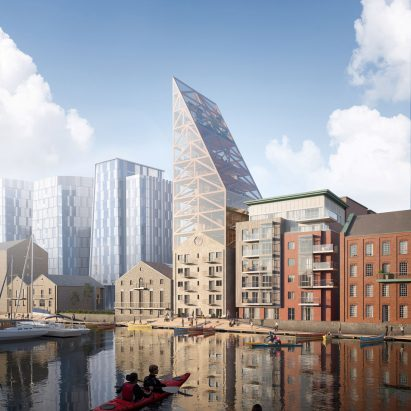 Dublin's Dock Mill by Urban Agency
