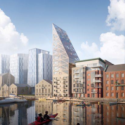 Dublin's Dock Mill by Urban Agency