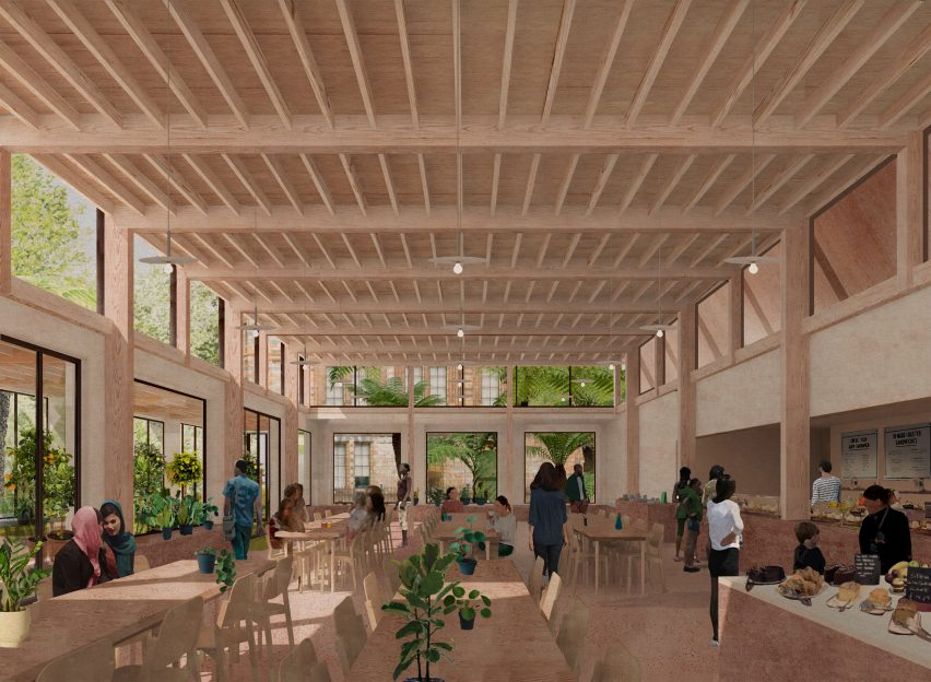 Inside the Urban Nature Project's Garden Building by Feilden Fowles