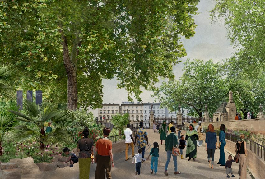The proposed Garden Building of the Urban Nature Project by Feilden Fowles