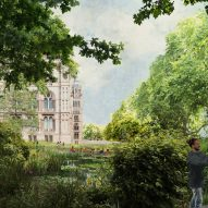 A wildlife garden in the Urban Nature Project by Feilden Fowles