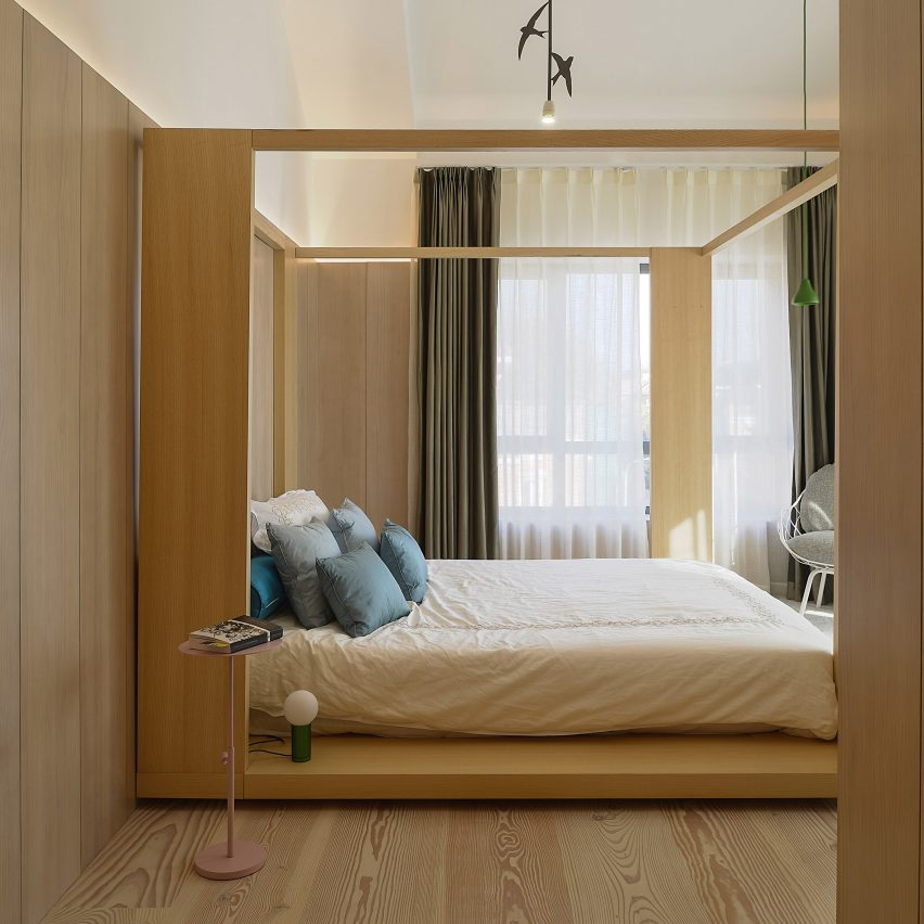 Bedroom in Xiang Jiang House, China, by Claesson Koivisto Rune