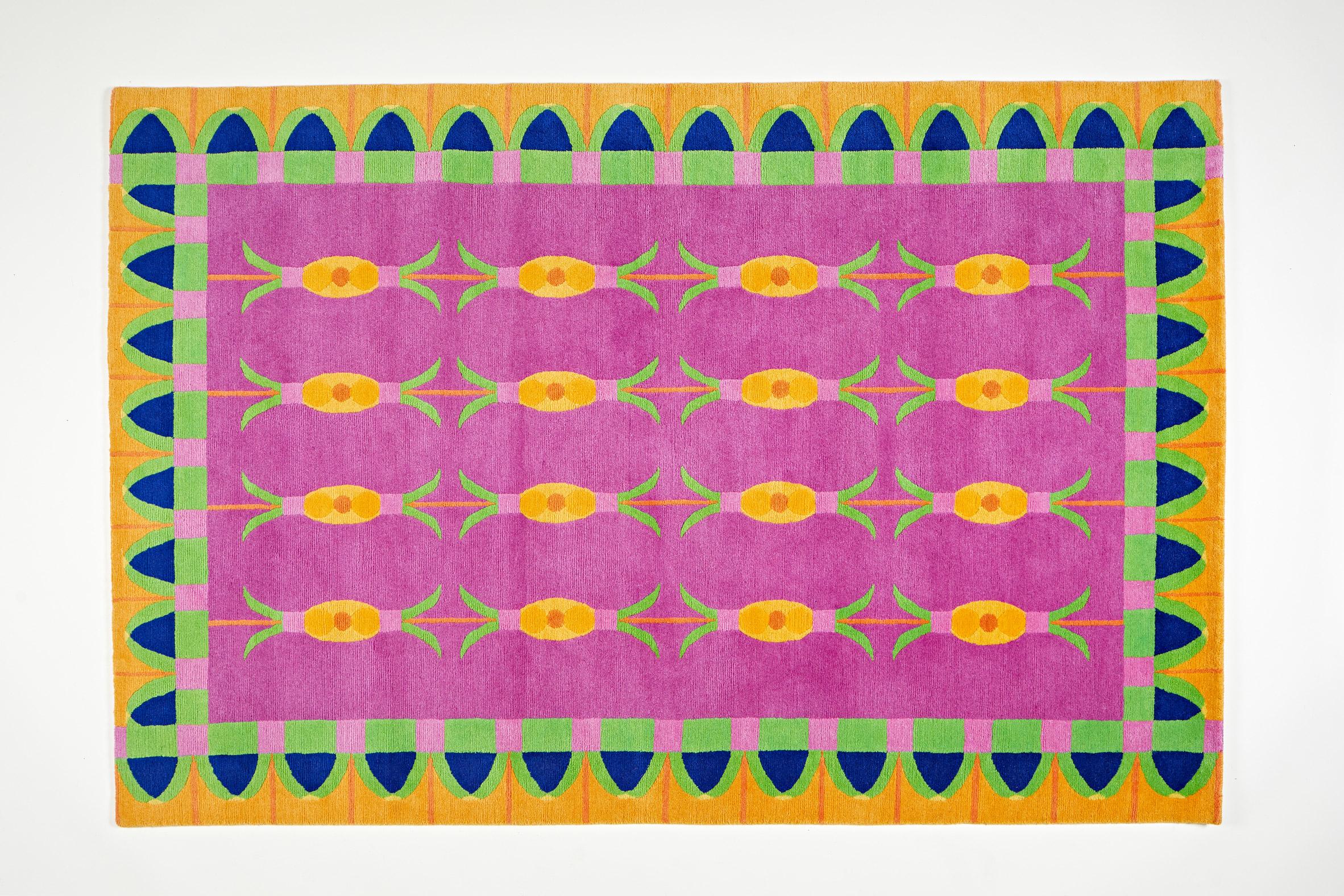 Gangan rug from Yinka Ilori homeware collection
