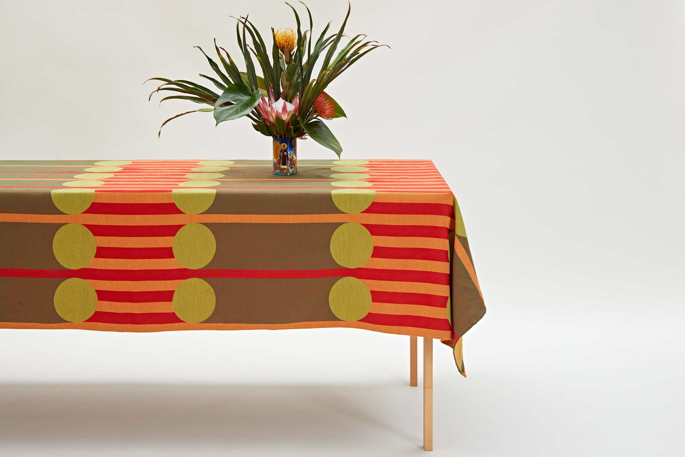 Aami Aami tablecloth from Yinka Ilori homeware collection