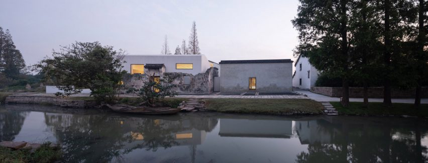 A view of Zhang Yan Cultural Museum in China