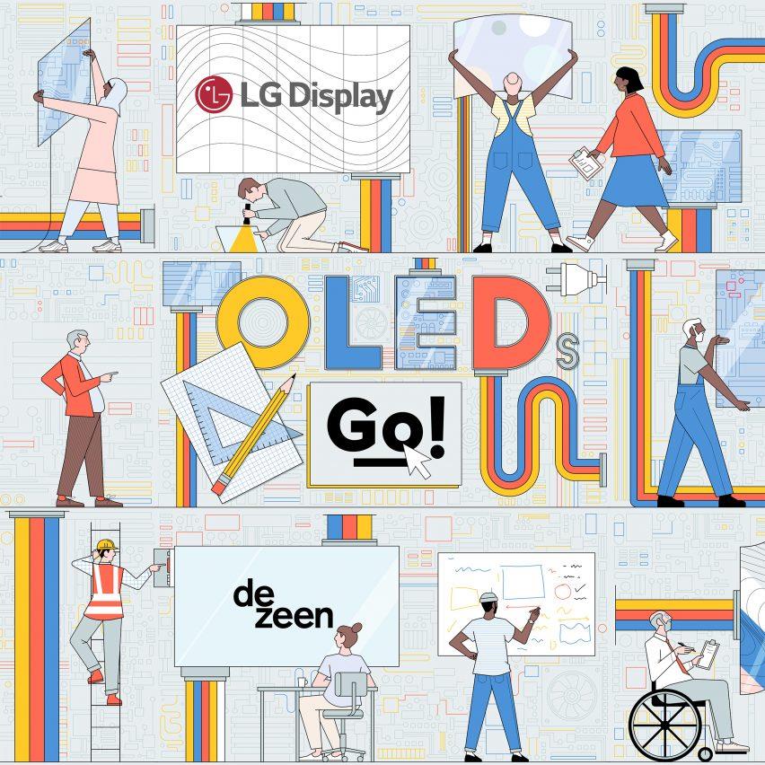 OLEDs Go! design competition illustration by Sam Peet