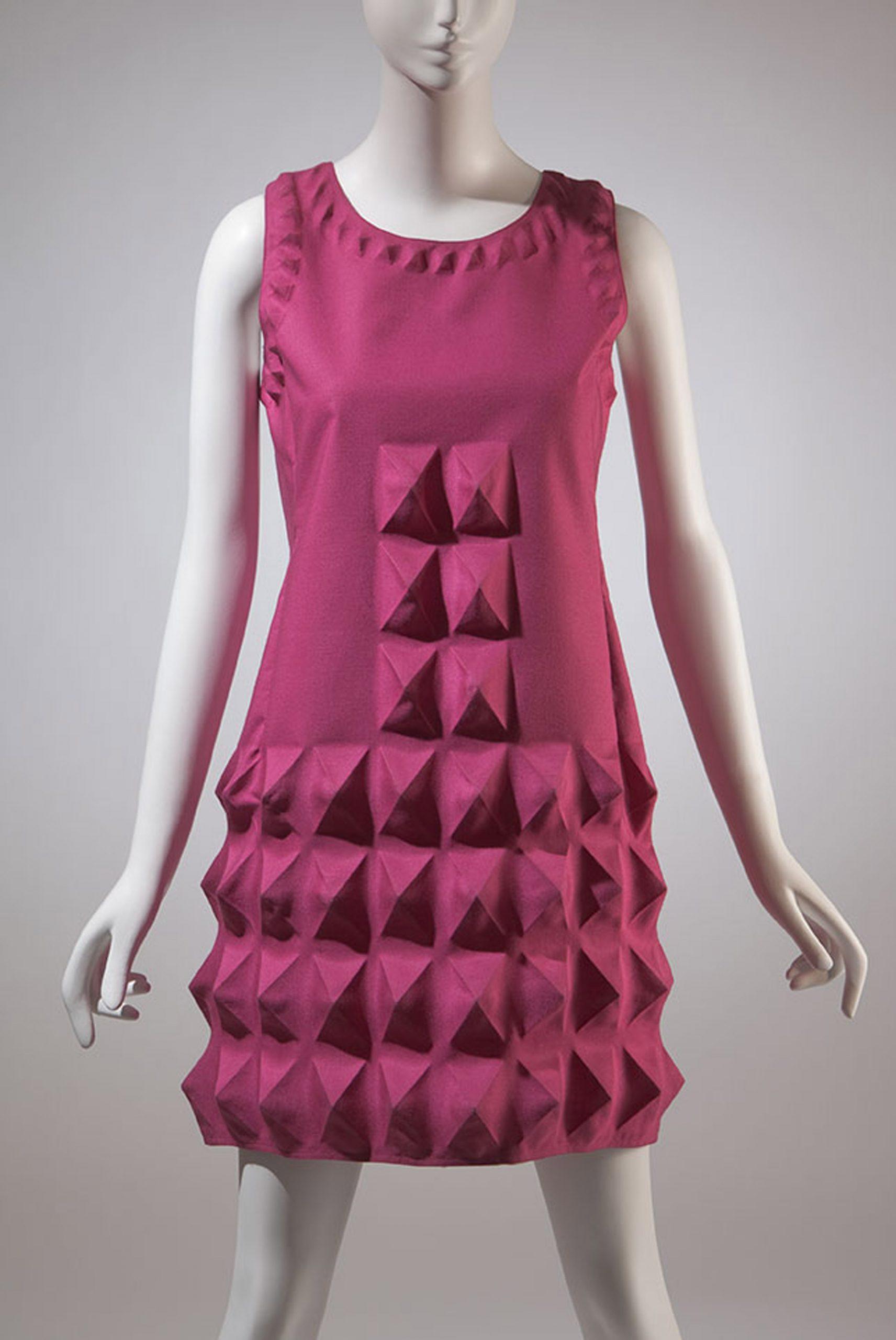 Pink Pierre Cardin dress