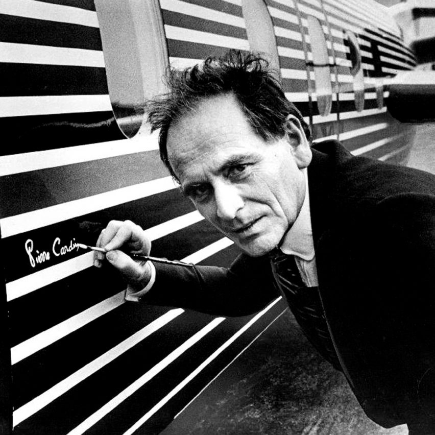 Portrait of Pierre Cardin in 1978
