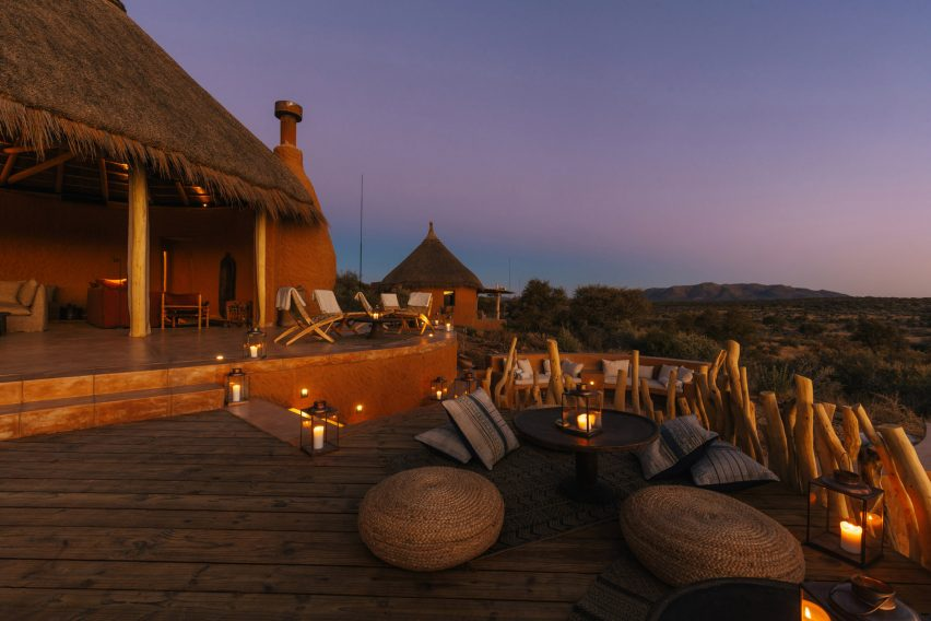 Omaanda lodge in Namibia