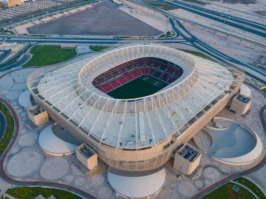 Ahmed Bin Ali Stadium in Qatar
