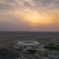 "Pattern Design completes ""open air-cooled"" stadium ahead of Qatar World Cup"