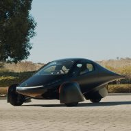 "Aptera unveils three-wheeled solar electric car that ""requires no charging"""