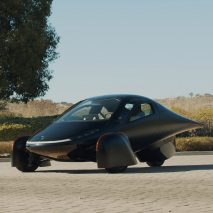 "Aptera unveils three-wheeled solar electric car that ""requires no ..."