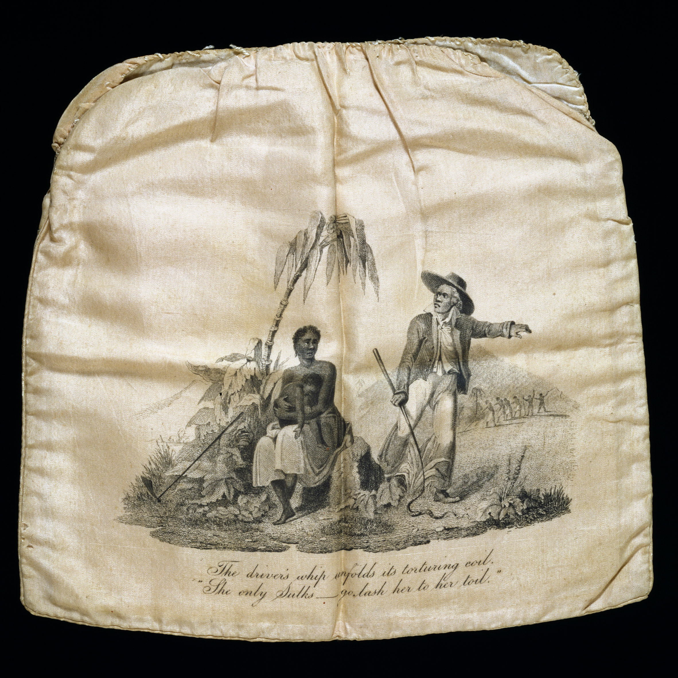 Anti-slavery workbag from the Bags: Inside Out exhibition at the V&A