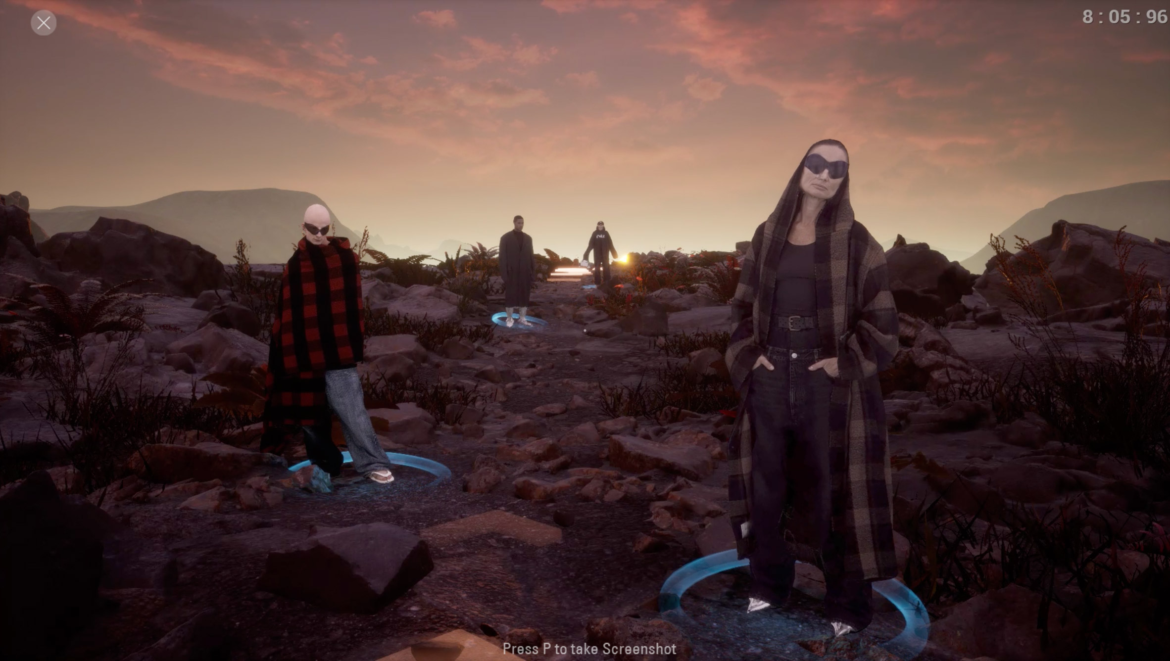Balenciaga presents Fall 2021 fashion collection in the form of Afterworld: The Age of Tomorrow video game