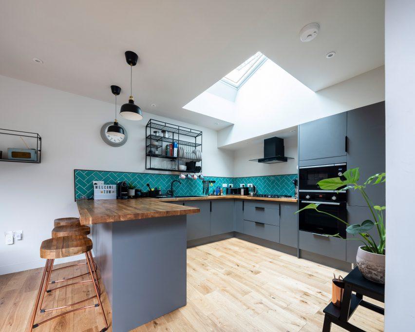 Kitchen in Bristol house