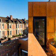 Corten house in Bristol by Barefoot Architects