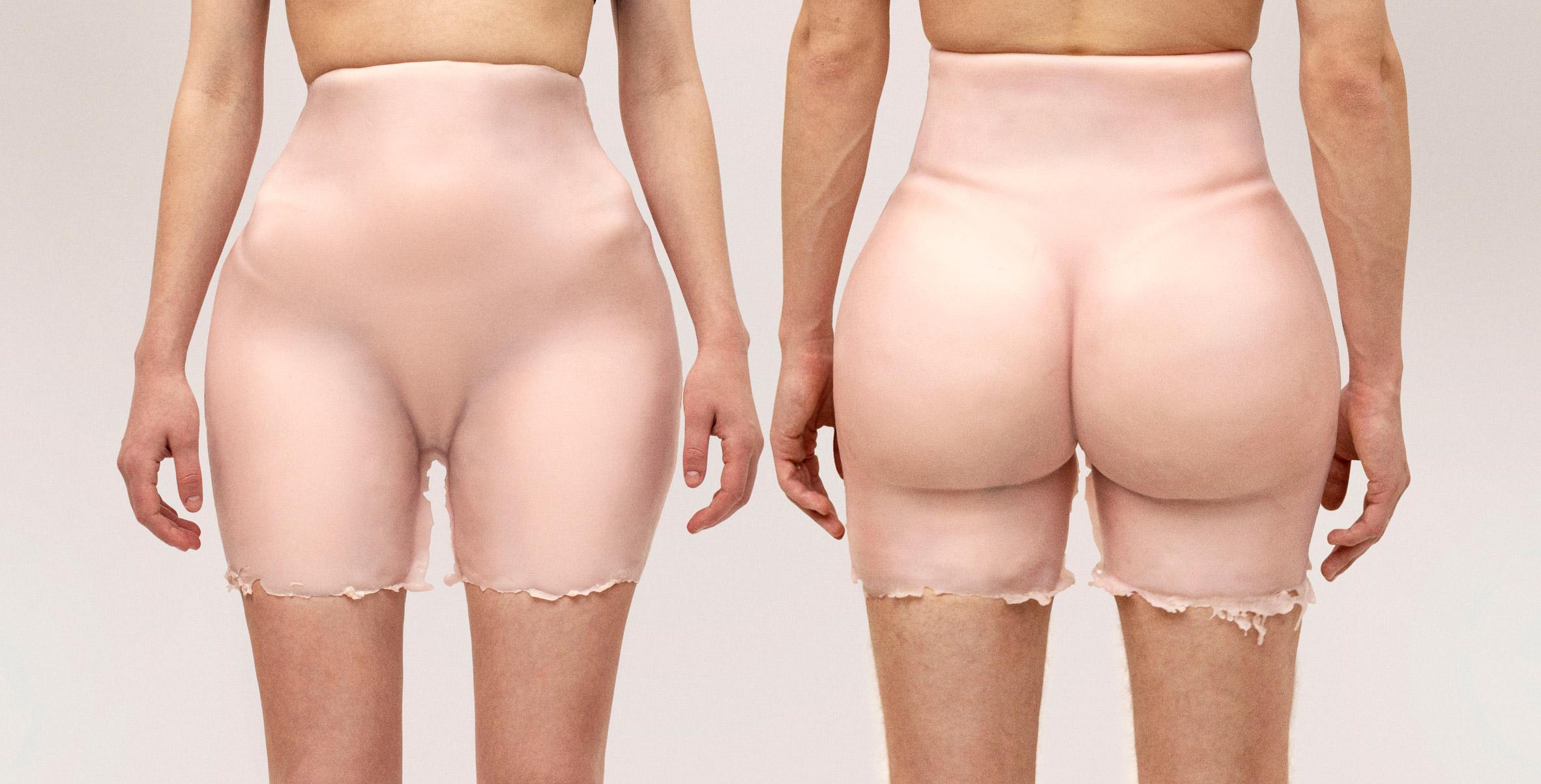 Kim Kardashian's bum shorts