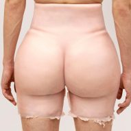 "Shorts that imitate Kim Kardashian's bum are ""a perfect ubuesque finale for 2020"" says commenter"