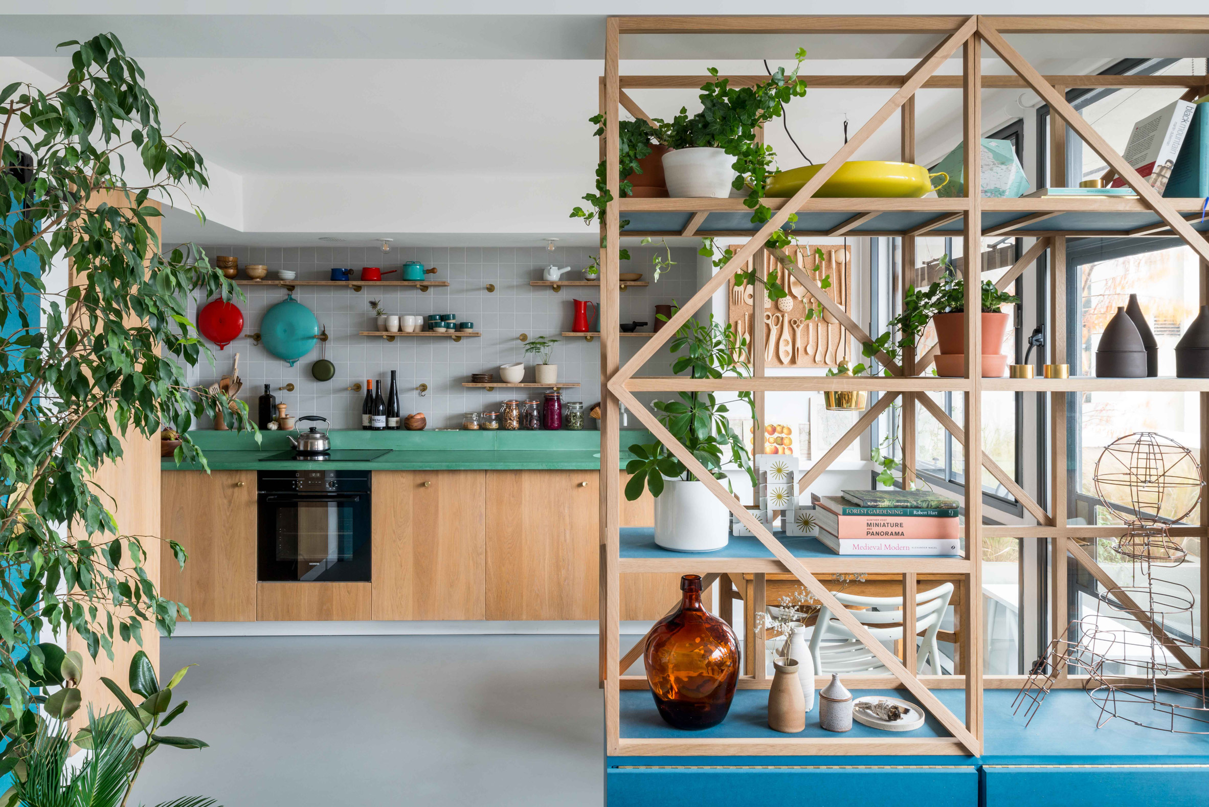 Kitchen of architect Ben Allen's London flat