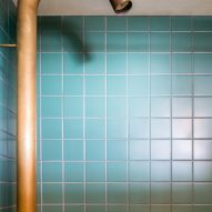 Bathroom of architect Ben Allen's London flat