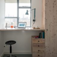 Study of architect Ben Allen's London flat