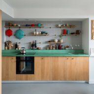 Kitchen of architect Ben Allen's London flat