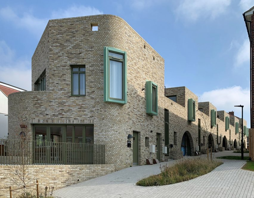 Bevan Road council housing by Peter Barber Architects