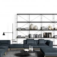 Horizontal Sofa by Boffi