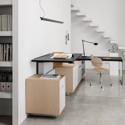 Brera25 desk by Gensler for IOC Project Partners