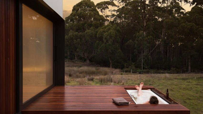 Bruny Island Cabin by Maguire + Dvein