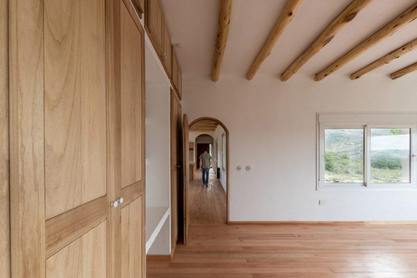 Interior of Casa Elisa by Grupo Boreal