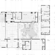 Plans for Casa Tapihue by Matías Zegers Arquitectos
